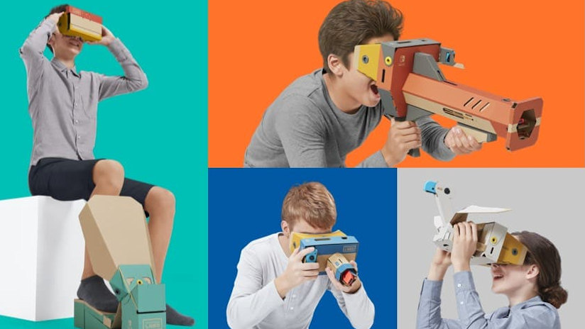 C'est officiel, Nintendo Labo lance son kit VR pour la Switch !