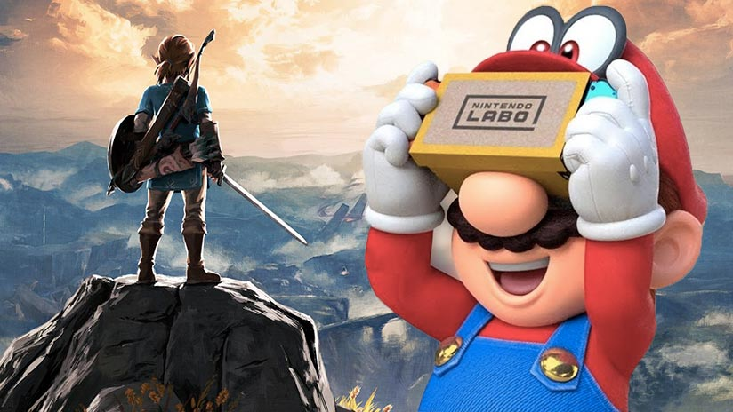 Super Mario Odyssey et The Legend of Zelda en VR sur Nintendo Switch !