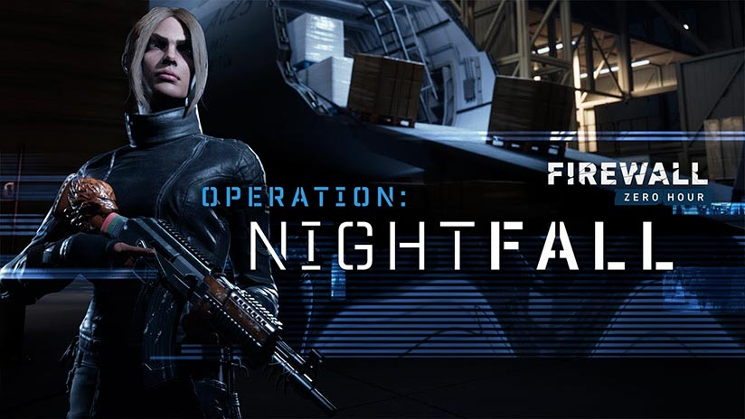 Firewall Zero Hour, mise à jour majeure avec Operation Nightfall