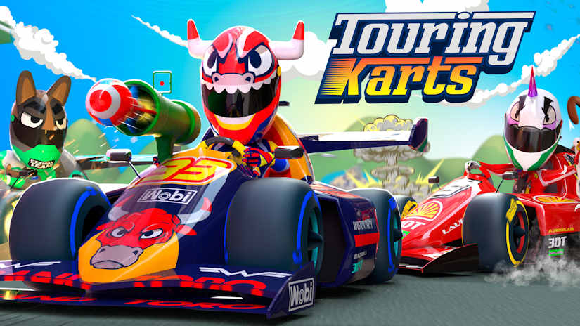 Touring Karts, le Crash Team Racing de la VR ?
