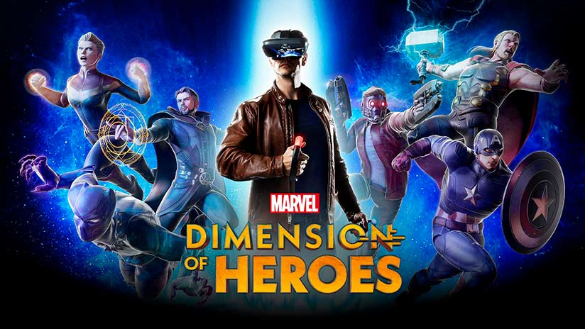 Marvel Dimension of Heroes arrive sur le casque Lenovo Mirage AR