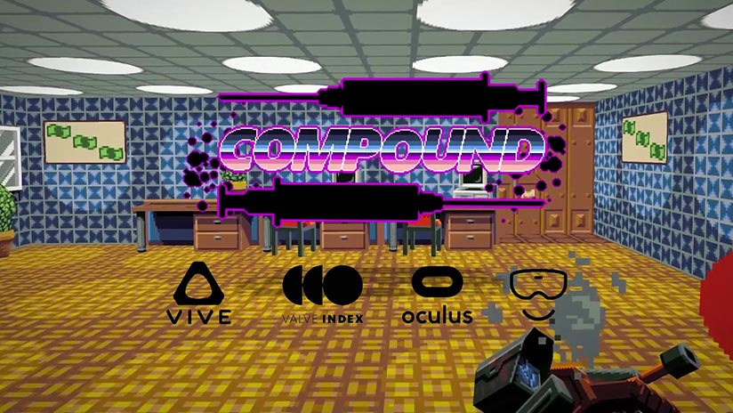 COMPOUND : nouvelle démo pour le FPS rogue-like au style retro
