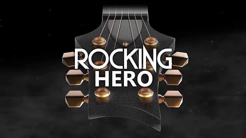 Rocking Hero proposera 3 styles différents pour jouer de la guitare en VR