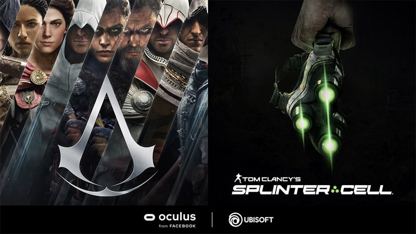 Assassin's Creed VR et Splinter Cell VR en développement pour Oculus