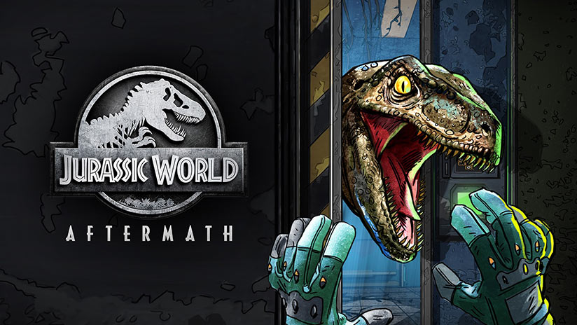 Jurassic World : Aftermath présente ses dinos en VR et en cell shading