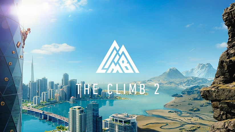The Climb 2, le jeu d'escalade en VR s'officialise sur Oculus Quest et Quest 2