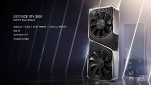 La GeForce RTX 3070 dans sa version Founders