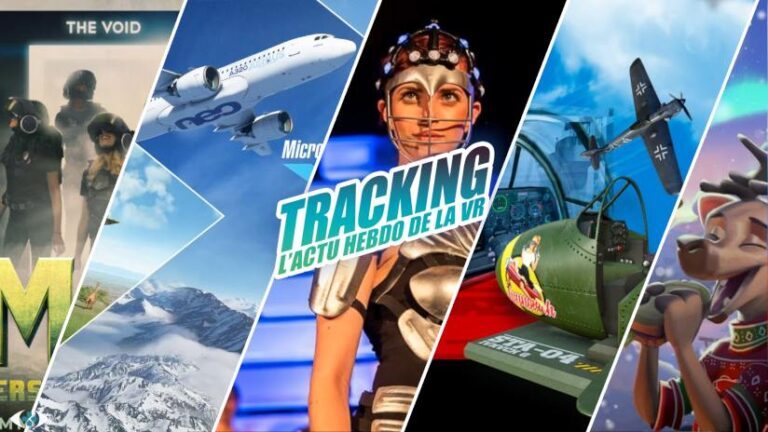 Tracking #25 : Flight Simulator, Morrowind en VR, brevets PSVR…