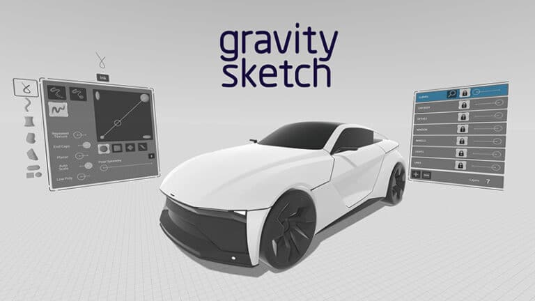 Gravity Sketch : l'application de conception 3D en VR devient gratuite