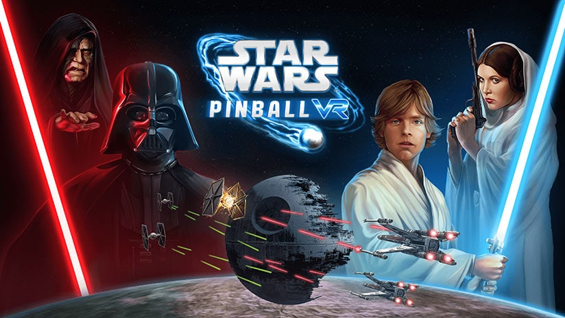 Star Wars Pinball VR déboulera en avril sur Steam, PSVR et Oculus Quest