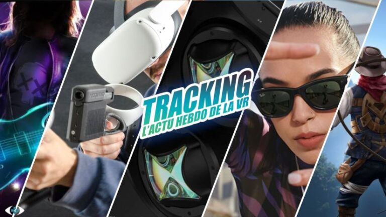 Tracking #66 : Casque XR Lynx, Ray-Ban Stories, ForceTube Scout, Air Guitar…