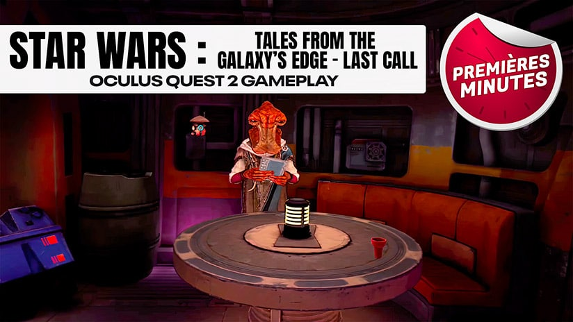 Star Wars Tales from the Galaxy's Edge : Gameplay de Last Call, la seconde partie