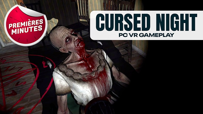 Cursed Night The House : Gameplay PC VR – Une ferme peu accueillante