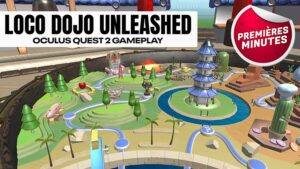 Loco Dojo Unleashed : Gameplay Oculus Quest – Un party game incontournable !